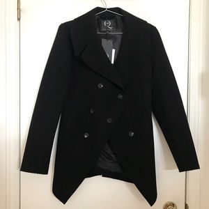Alexander McQueen black coat women size 40